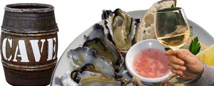 Chablis met oesters