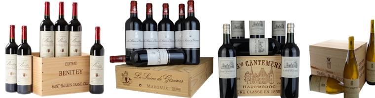 Wilt u ook de wijn in de orginele wijn kist ontvangen, leuk voor in de kelder of bij uw wijn voorraad wij hebben geregeld wijnkistjes van de wijnhuizen met de betreffende wijn.