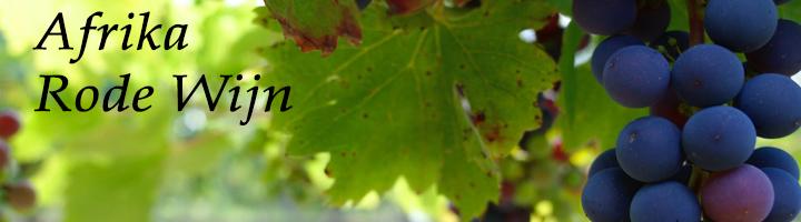 Afrika Rode Wijnen