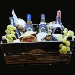 Wijnmand Frankrijk de luxe