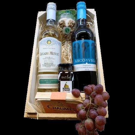 Wijnmand de Luxe vierkant Spanje legado en Vega