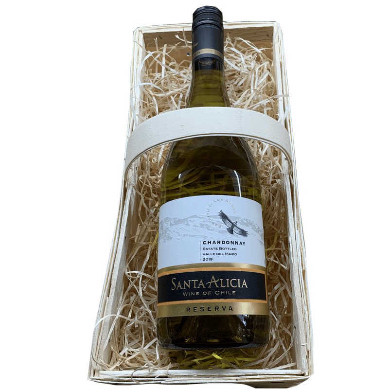 Wijnmand Santa Alicia Chardonnay Reserva