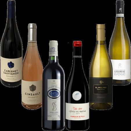 Wijnhandel Grand Cave Proefdoos wijn