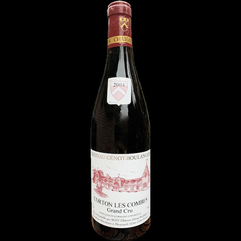 2004 Corton 'les Combes' Grand Cru Genot Boulanger wijnhandel grand cave