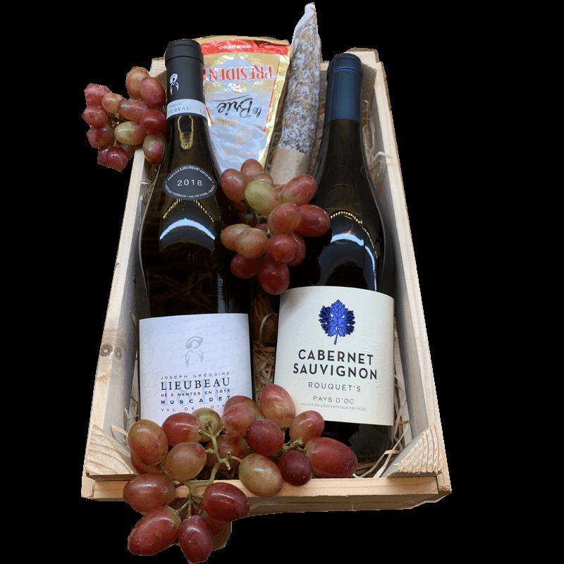 Wijnmand de luxe Muscadette en Cab sauvignon 28.512397