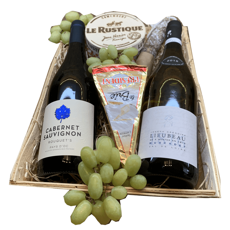 Wijnmand Cabernet Sauvignon en Muscadette 26.859504