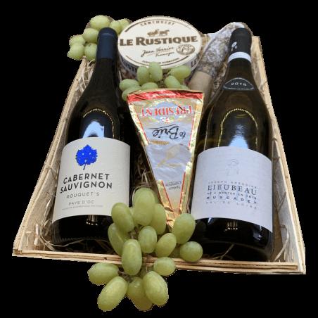 Wijnmand Cabernet Sauvignon en Muscadette