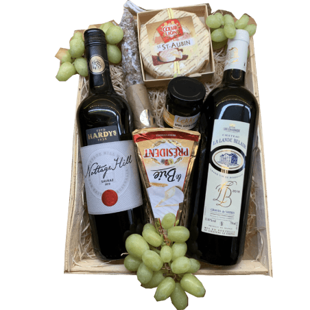Wijnmand Bordeaux en Nottage Hill