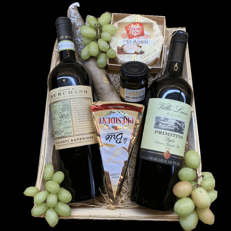 Wijnmand Chianti en Primitivo 28.917355