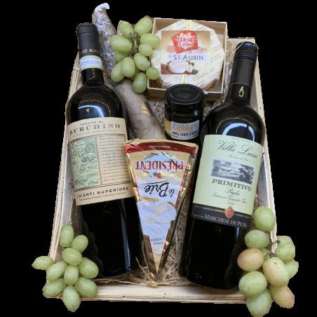 Wijnmand Chianti en Primitivo