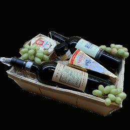Wijnmand Chianti en Primitivo Wijnhandel Grand Cave wijnmanden Online