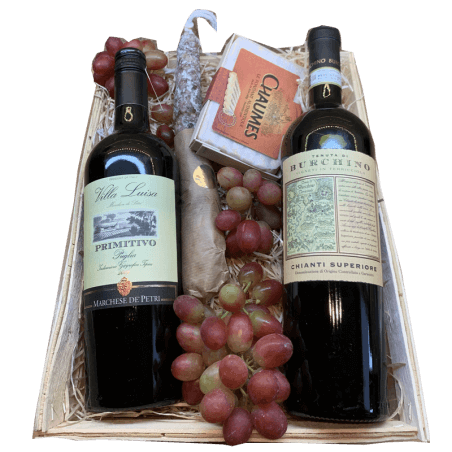 Wijnmand Primitivo en Chianti