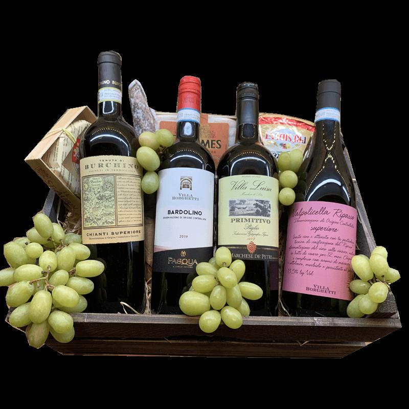 Wijnmand de Luxe Italien style the reds 54.132231