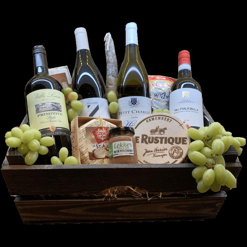 Wijnmand de luxe Italie en Frankrijk