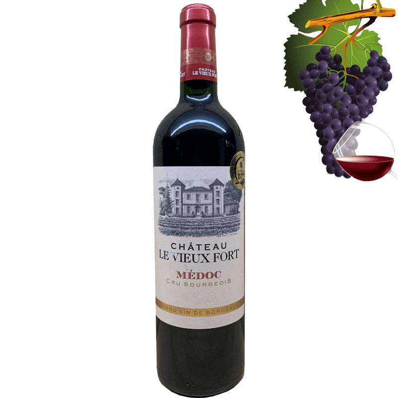 Chateau le Vieux Fort Medoc Cru Bourgeois 12.79