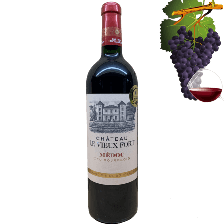 Chateau le Vieux Fort Medoc Cru Bourgeois