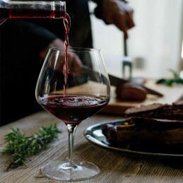 Santa Alicia Anke heerlijk bij een stevig gerecht zoals een vlees van de grill of barbeque