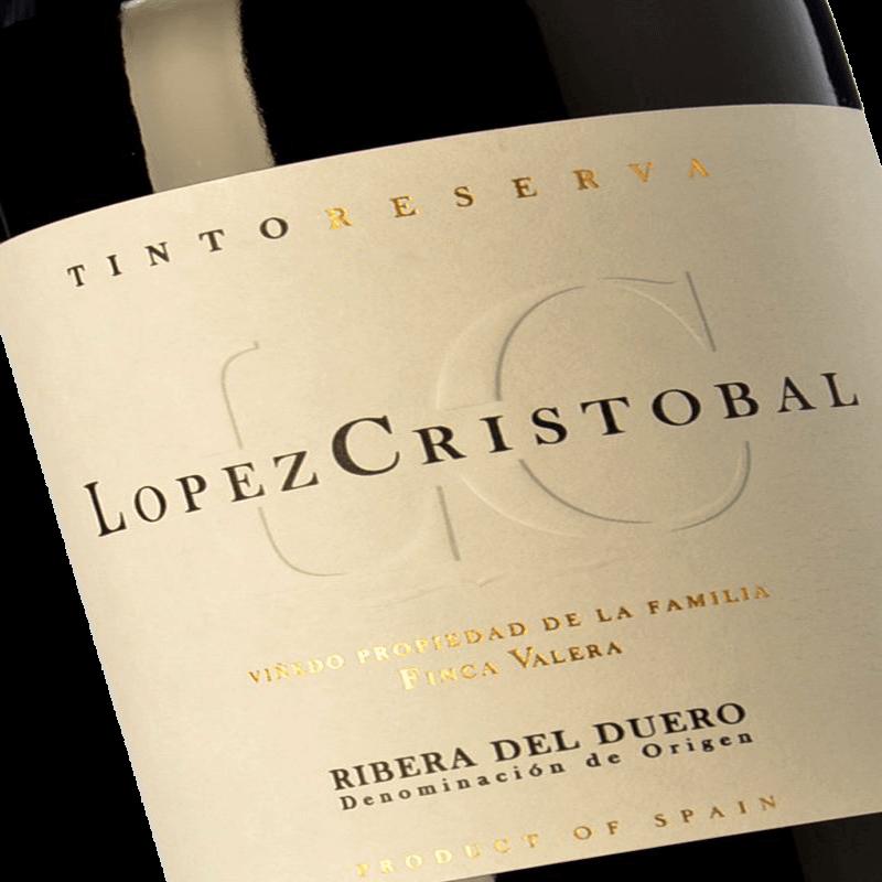 Lopez Cristobal Reserva rode wijn uit het Spaanse Castilla Y Leon