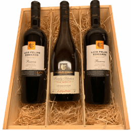 Luis Felipe Edwards Cabernet Sauvignon 2 en Chardonnay