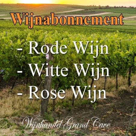 Wijnabonnement Rode, Witte en Rose Wijn