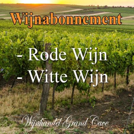 Wijnabonnement Rode en witte wijn