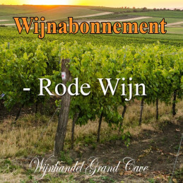Wijnabonnement Rode wijn