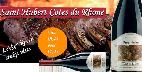 Saint Hubert Cotes du Rhone heerlijke herfstwijn