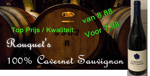 Rouquets cabernet Sauvignon
