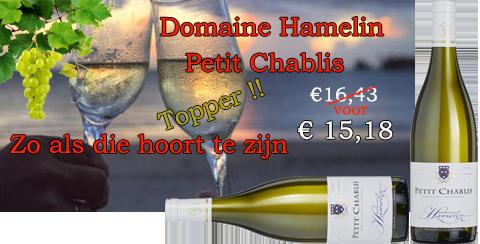 Domaine Hamelin Petit Chablis